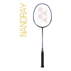 Yonex Nanoray 10F - bespannen - blauw of rood
