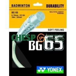 BG65 - CHESPbadmintonwebshop set