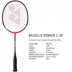 Vijf Musclepower 2 Juniors