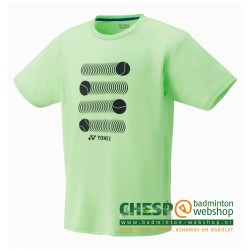 YONEX 16319 T-shirt Pastel Green - Wimbledon