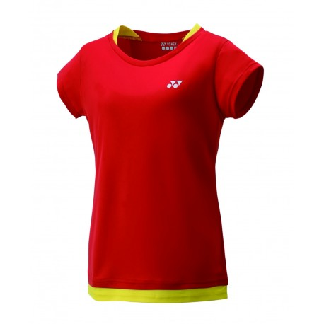 YONEX 16347 Replica T-shirt - wit/rood