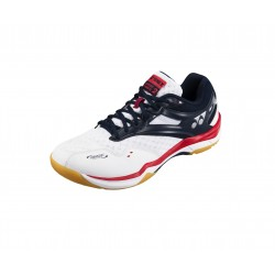 YONEX POWER CUSHION COMFORT ADVANCE - WH|ITE/NAVY (met gratis sokken)
