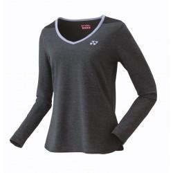 2019 - YONEX Tshirt Lady - 16366 zwart