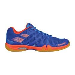 Babolat badmintonschoen TEAM men - blauw oranje -
