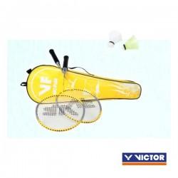 VICTOR VICfun badmintonset B | 2 rackets, 2 shuttles en tas