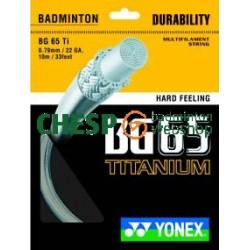 BG65 Titanium - Yonex set