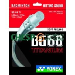 Yonex BG68 Titanium - Yonex set