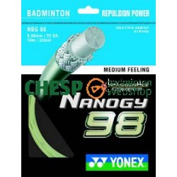 Nanogy 98 (goud) - Yonex set