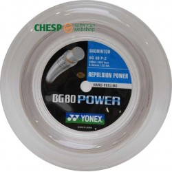 BG80 power - CHESPbadmintonwebshop set